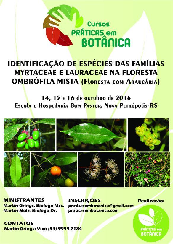 CartazMyrtaceae e Lauraceae2